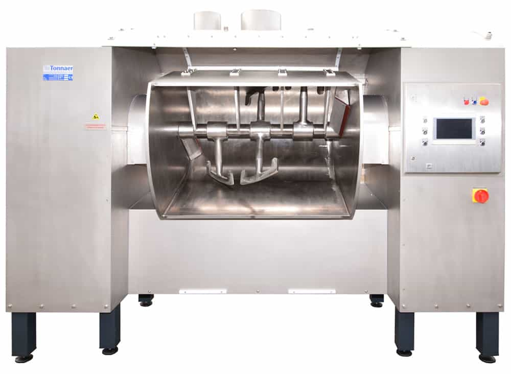 TBR dough breaking/mixing machine - Tonnaer Mixing Systems