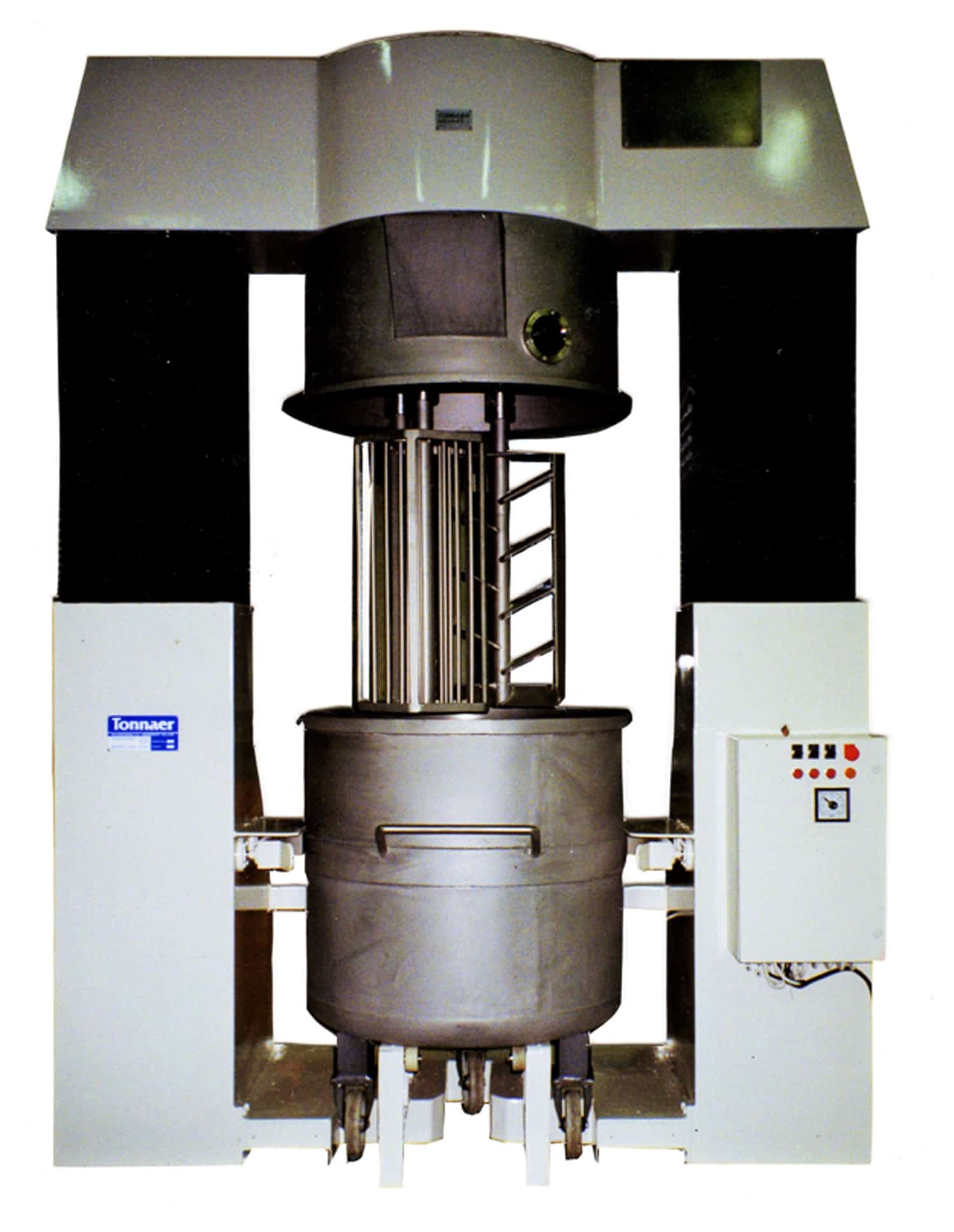 Double planetary mixer - Tonnaer Mixing Systems