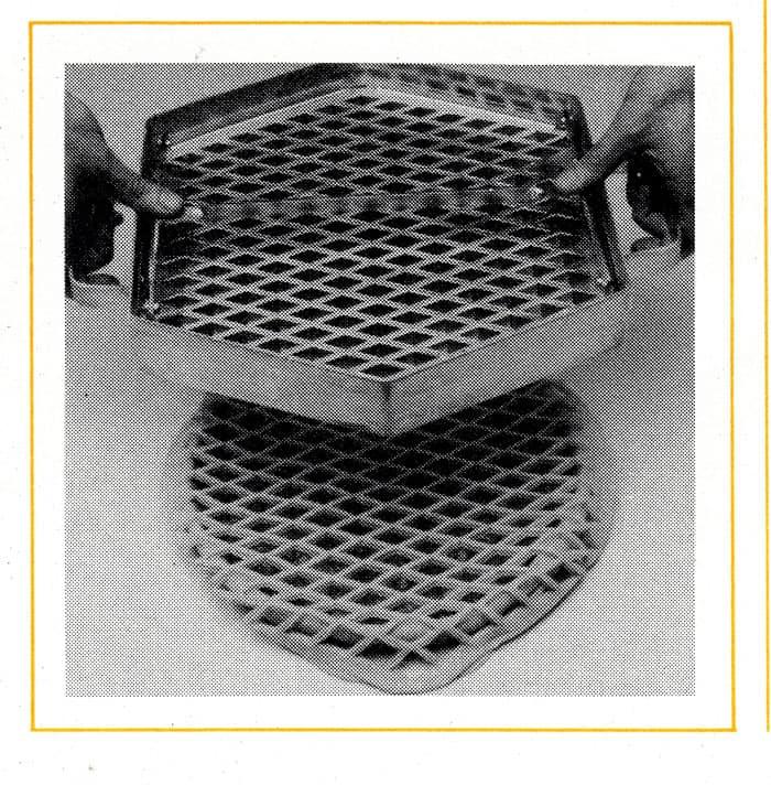 Geschichte Teiggitterwalze Tonnaer Misch Systeme