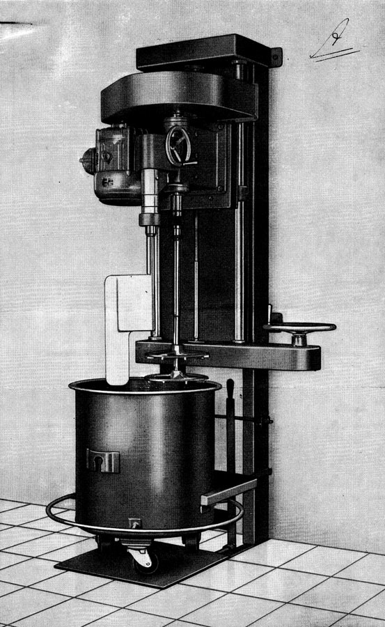 History illustration Tonnaer Mixing Systems