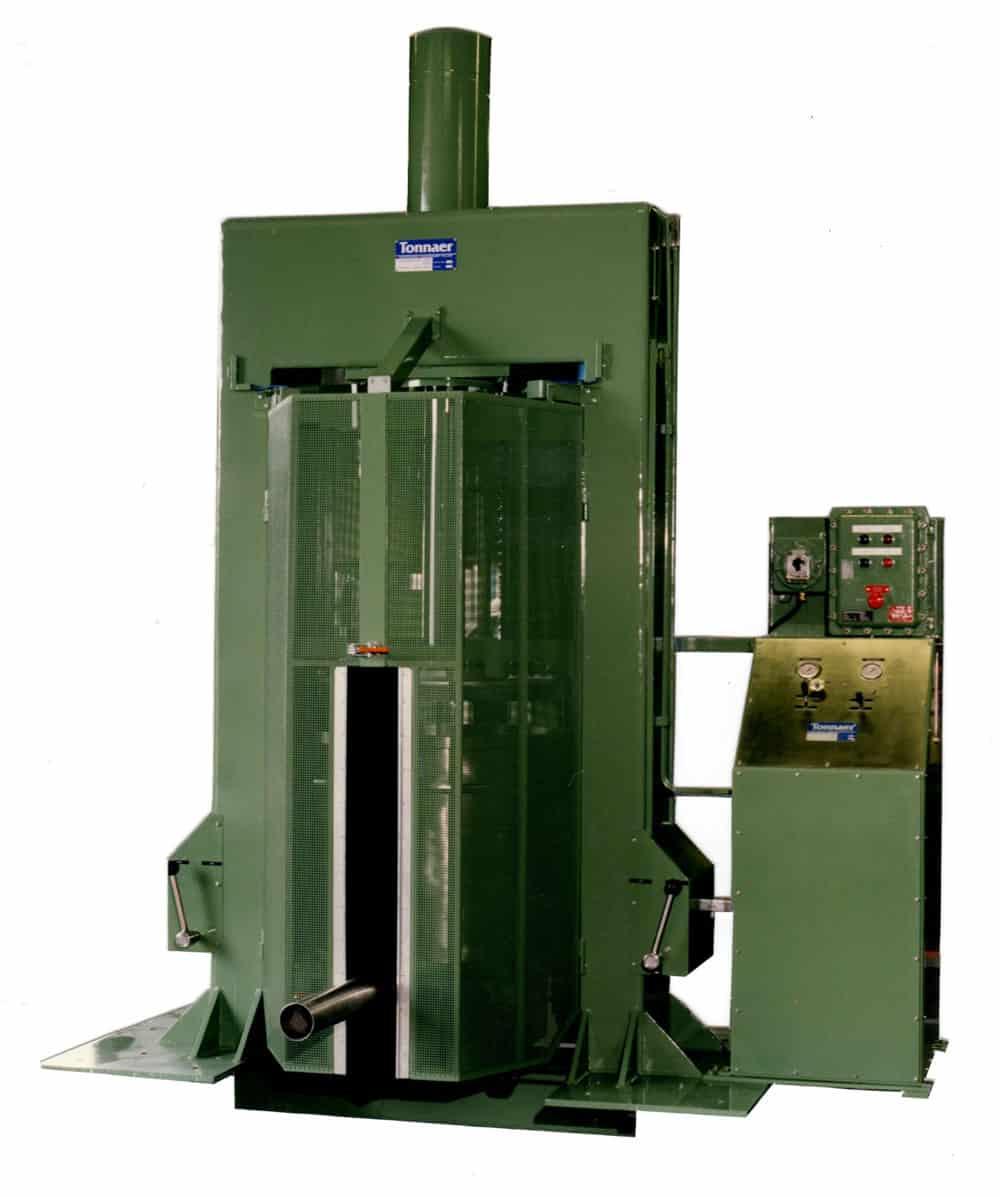 Tub press 01 Tonnaer Mixing Systems