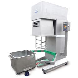 TPEM-200 Eurobak planetary mixer - Tonnaer Mixing Systems