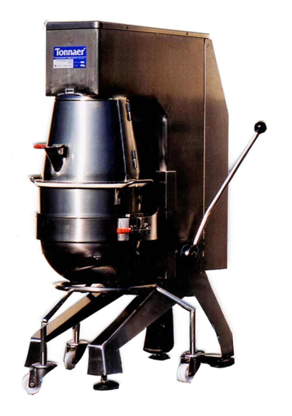 TPIM planetary mixer 60-150 litres - Tonnaer Mixing Systems