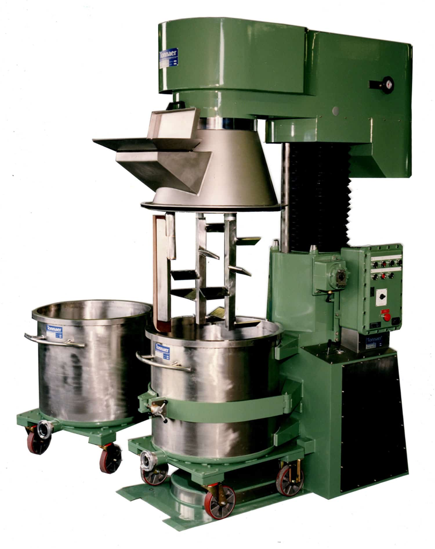 Planetary kneader 750-1000 litres - Tonnaer Mixing Systems