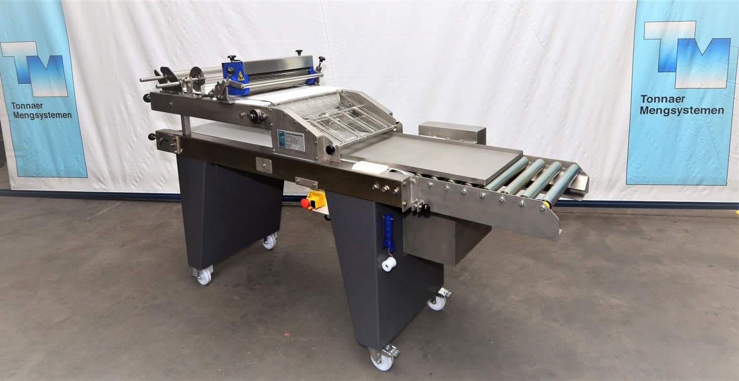Lattic cutter - Tonnaer Mixing Systems
