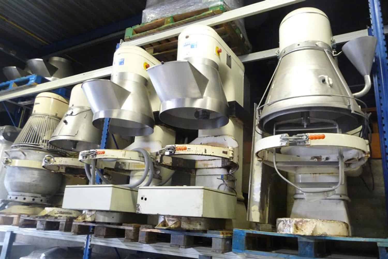 Various Planetary mixers - Tonnaer Mixing Systems