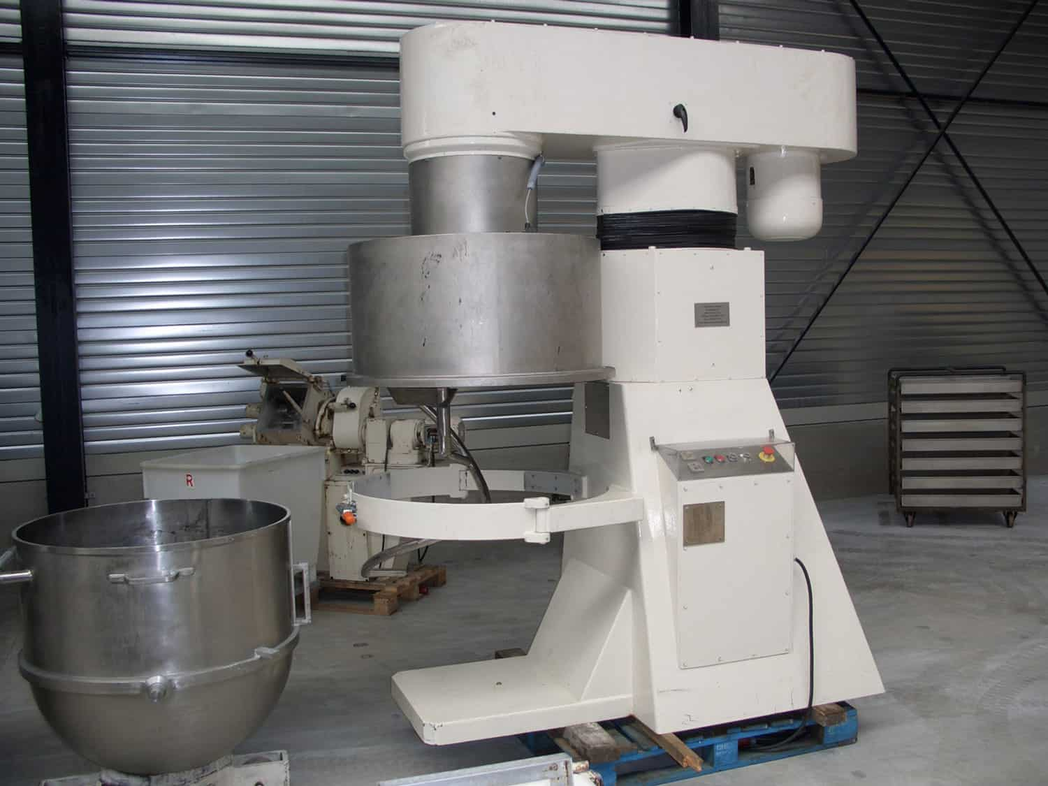 Planetary mixer 450 ltr - Tonnaer Mixing Systems