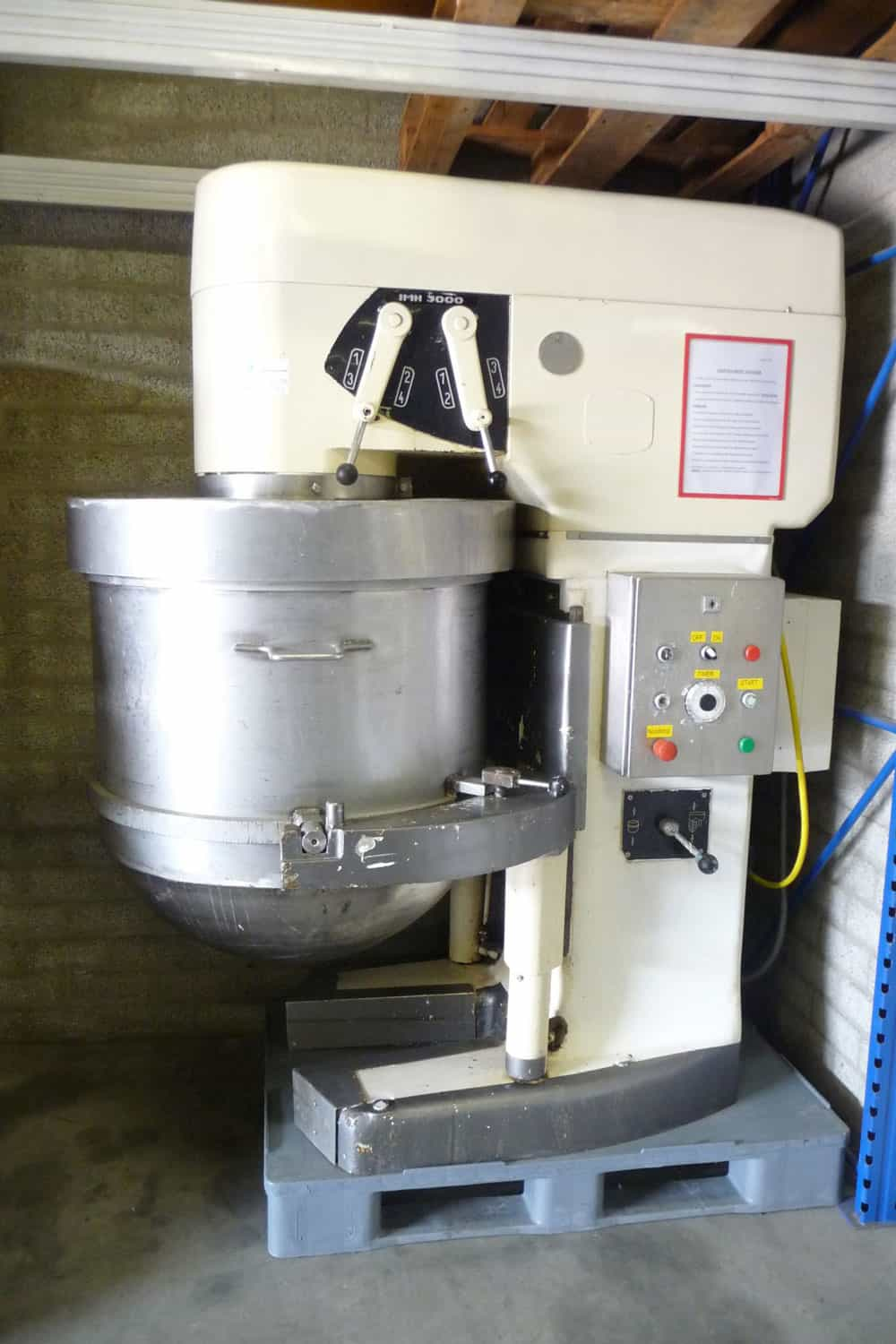 Planetary mixer 350 ltr - Tonnaer Mixing Systems