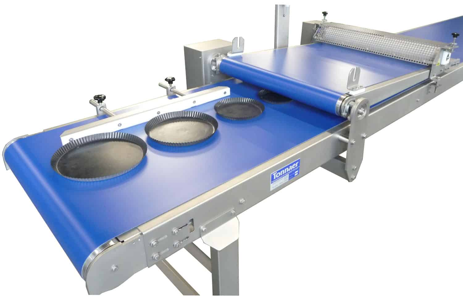 Semi-automatic finishing line 02 Tonnaer Mixing Systems
