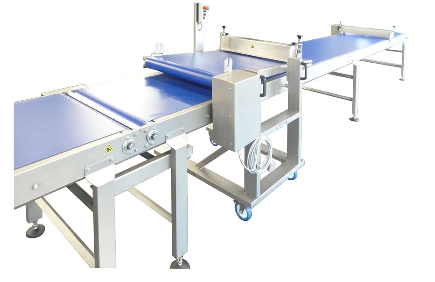 Semi-automatic finishing line 05 Tonnaer Mixing Systems