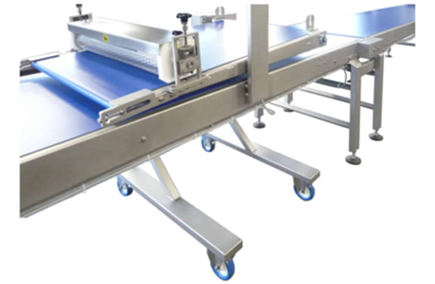 Semi-automatic finishing line 06 Tonnaer Mixing Systems