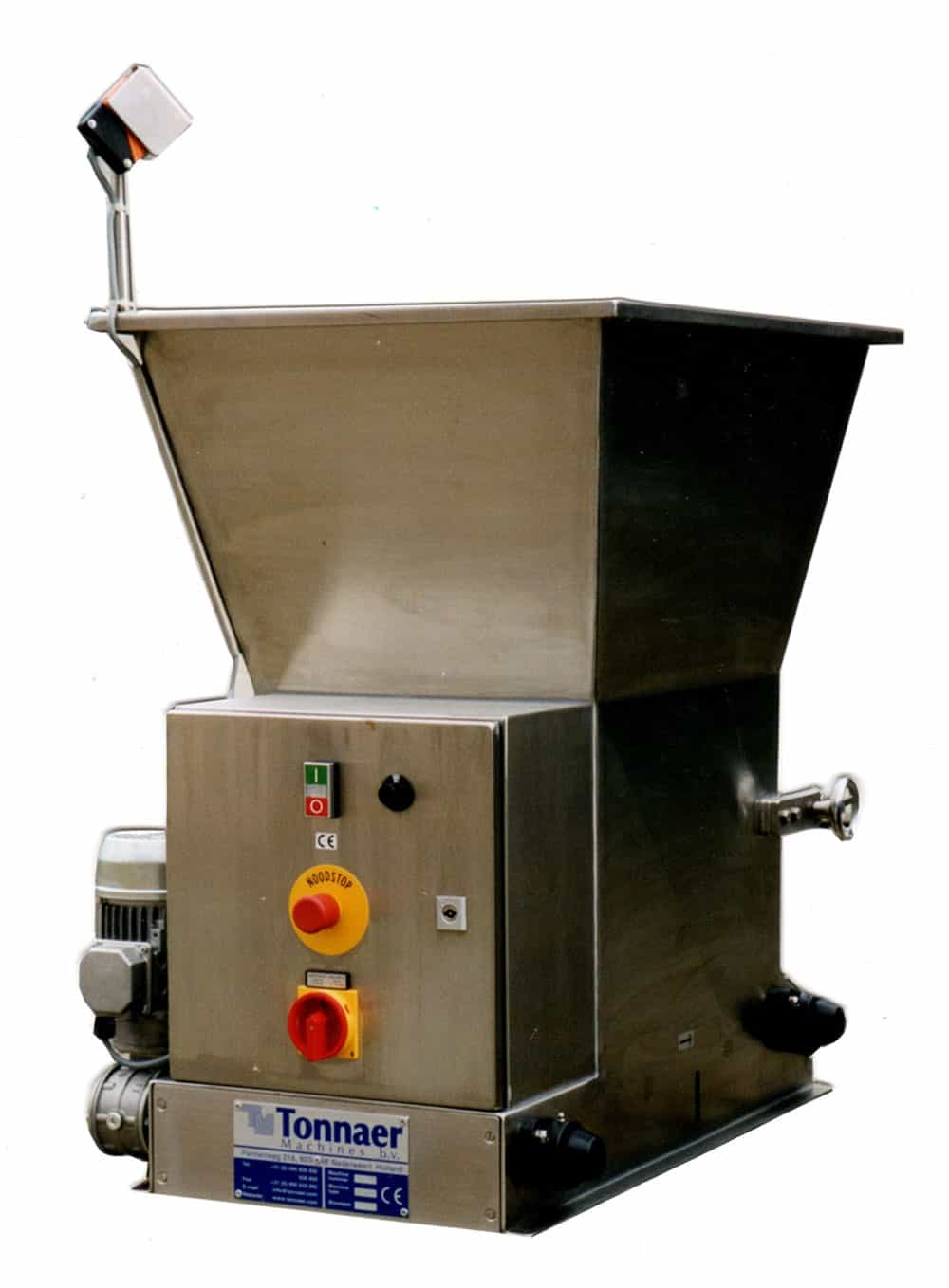 Sugar sprinkling machine universal - Tonnaer Mixing Systems