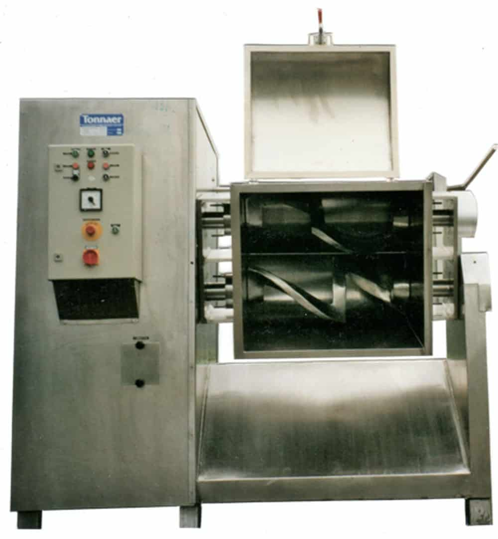 Z-Kneter TZ - Tonnaer Misch Systeme
